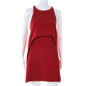 KaufmanFranco Womens Layered Halter Shift Dress